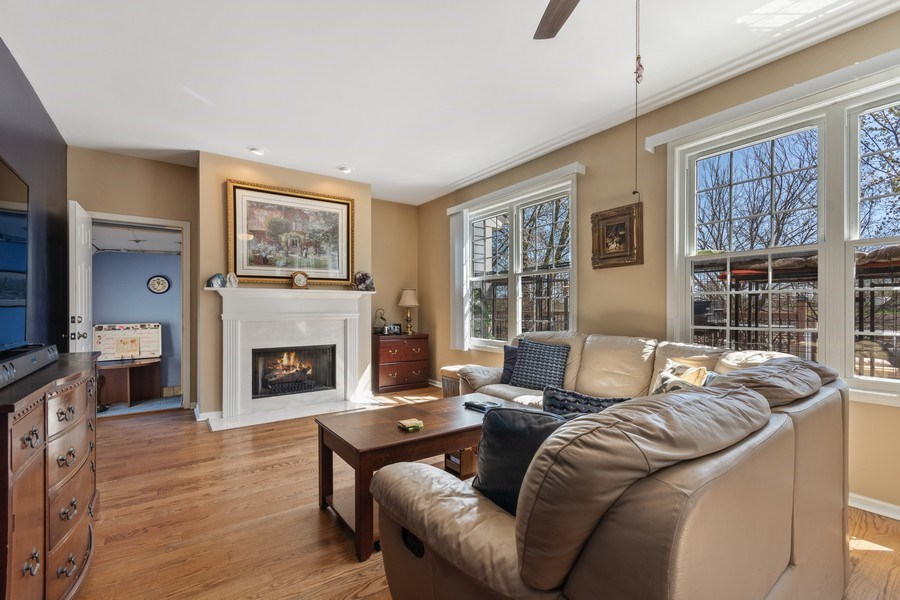 Real Estate Photography - 1407 Blume Drive, Elgin, IL, 60124 - Family Room