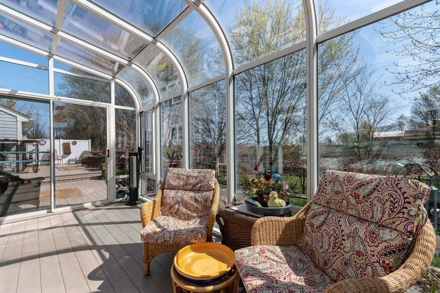 Real Estate Photography - 1407 Blume Drive, Elgin, IL, 60124 - Sun Room