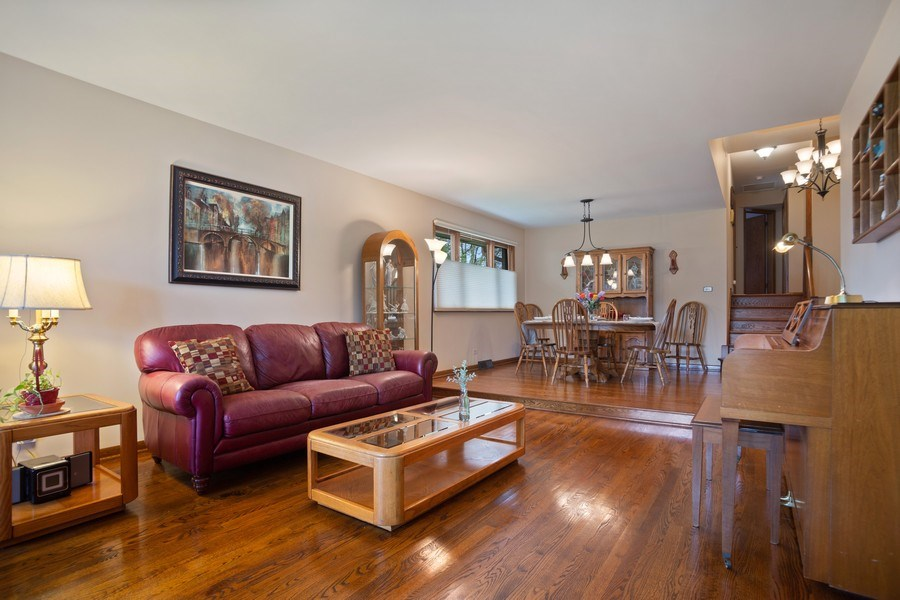Real Estate Photography - 112 Wisner Street, Park Ridge, IL, 60068 - Living Room