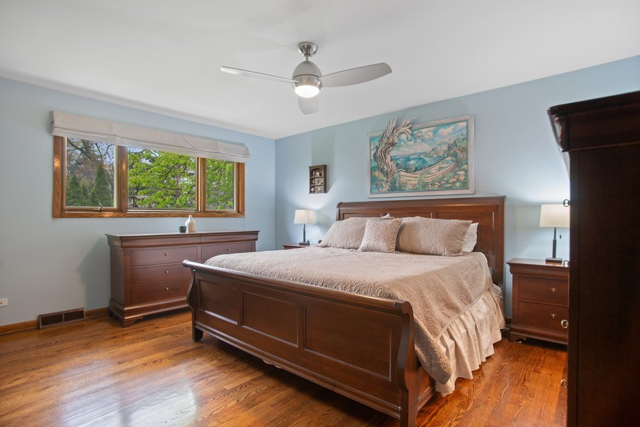 Real Estate Photography - 112 Wisner Street, Park Ridge, IL, 60068 - Master Bedroom
