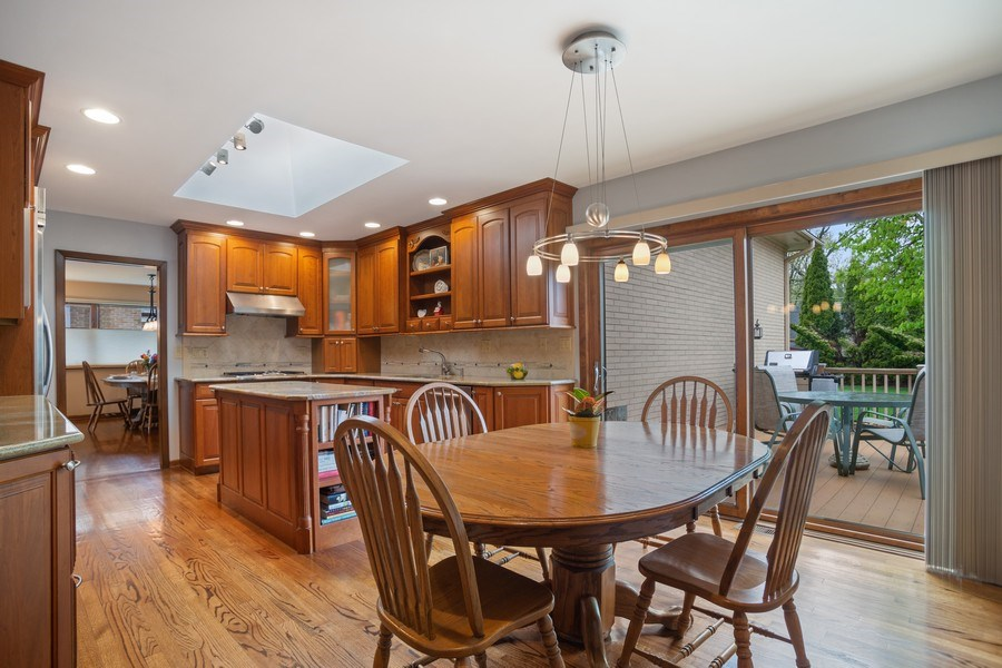 Real Estate Photography - 112 Wisner Street, Park Ridge, IL, 60068 - Kitchen / Table Area
