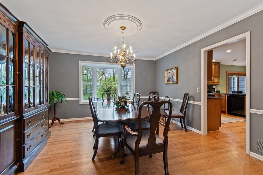 Real Estate Photography - 536 Windsor Lane, Batavia, IL, 60510 - Dining Room