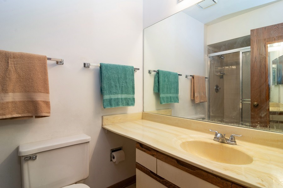 Real Estate Photography - 318 E. Forest Knoll Drive, Palatine, IL, 60074 - Master Bathroom