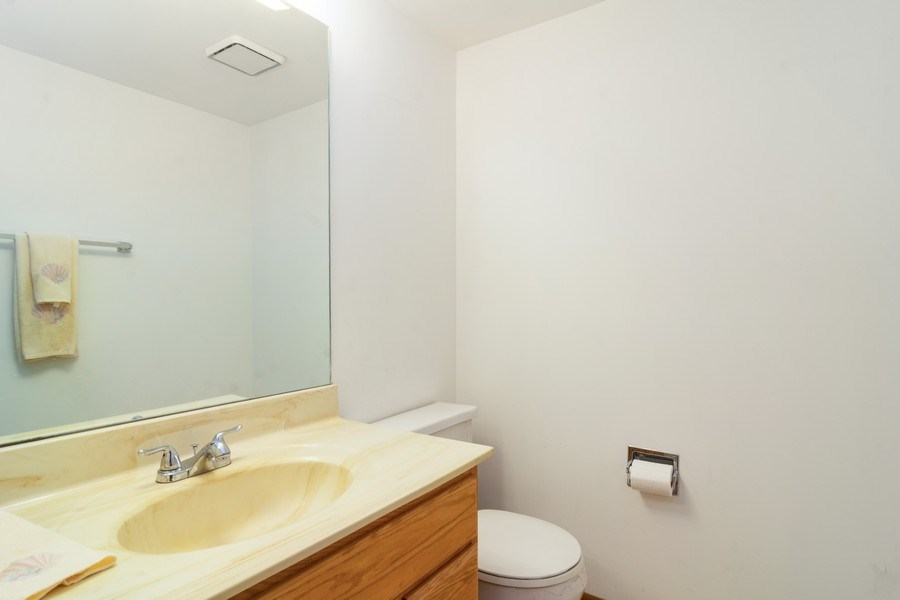 Real Estate Photography - 318 E. Forest Knoll Drive, Palatine, IL, 60074 - Half Bath