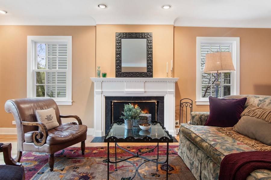 Real Estate Photography - 3206 Park Place, Evanston, IL, 60201 - Living Room