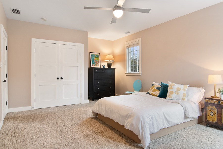Real Estate Photography - 3206 Park Place, Evanston, IL, 60201 - 3rd Bedroom