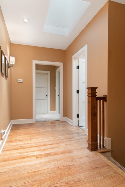 Real Estate Photography - 3206 Park Place, Evanston, IL, 60201 - 2nd Floor Hallway
