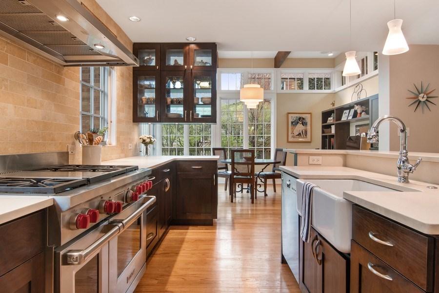 Real Estate Photography - 3206 Park Place, Evanston, IL, 60201 - Kitchen