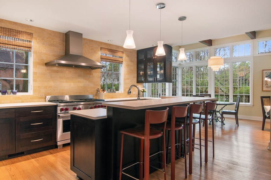 Real Estate Photography - 3206 Park Place, Evanston, IL, 60201 - Kitchen / Breakfast Room