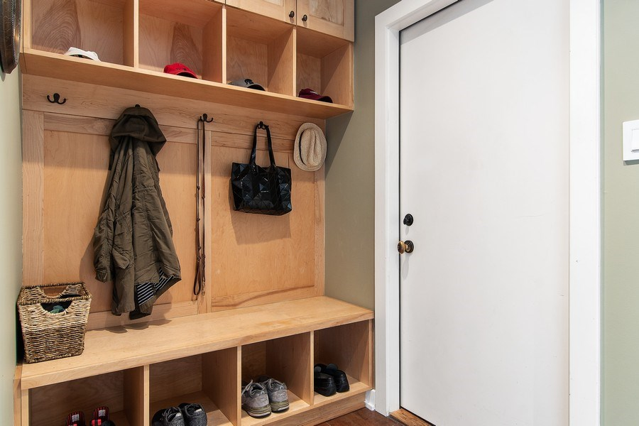 Real Estate Photography - 3206 Park Place, Evanston, IL, 60201 - Mudroom
