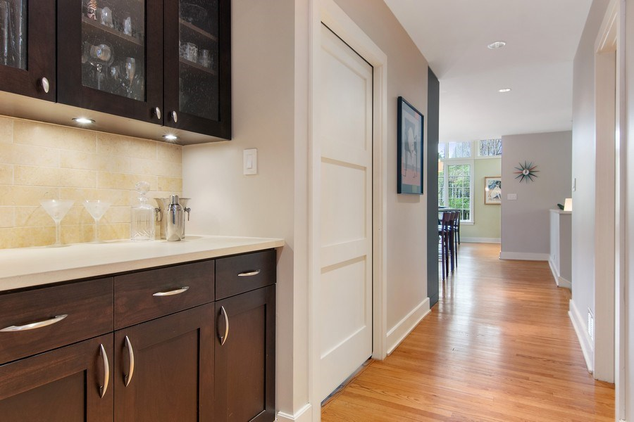 Real Estate Photography - 3206 Park Place, Evanston, IL, 60201 - Butler's pantry