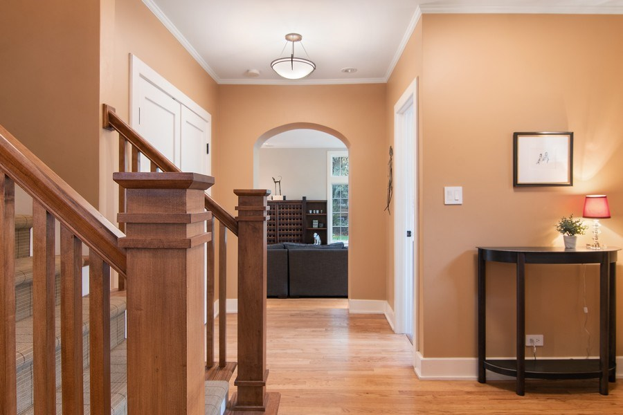Real Estate Photography - 3206 Park Place, Evanston, IL, 60201 - Foyer