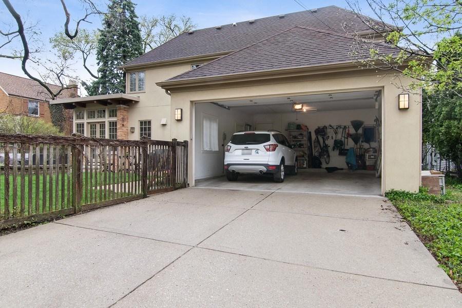 Real Estate Photography - 3206 Park Place, Evanston, IL, 60201 - Attached 2 Car Garage