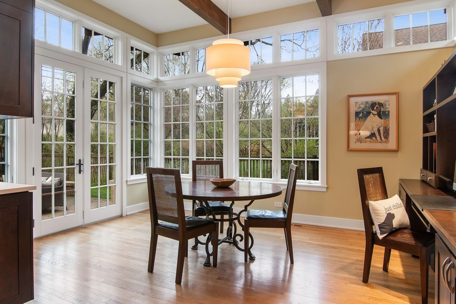 Real Estate Photography - 3206 Park Place, Evanston, IL, 60201 - Breakfast Area