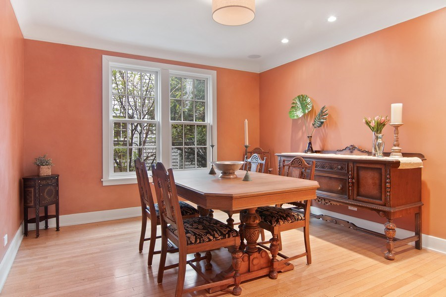 Real Estate Photography - 3206 Park Place, Evanston, IL, 60201 - Dining Room