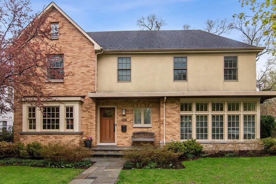 Real Estate Photography - 3206 Park Place, Evanston, IL, 60201 - Front View