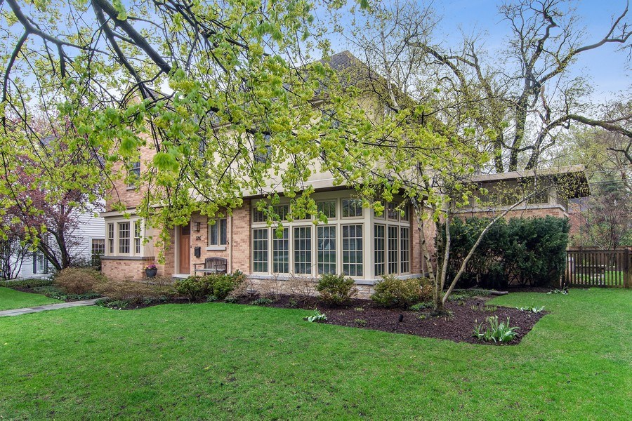 Real Estate Photography - 3206 Park Place, Evanston, IL, 60201 - Side View