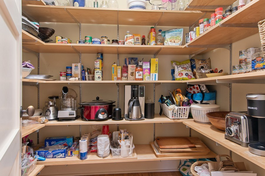 Real Estate Photography - 3206 Park Place, Evanston, IL, 60201 - Walk-In Pantry