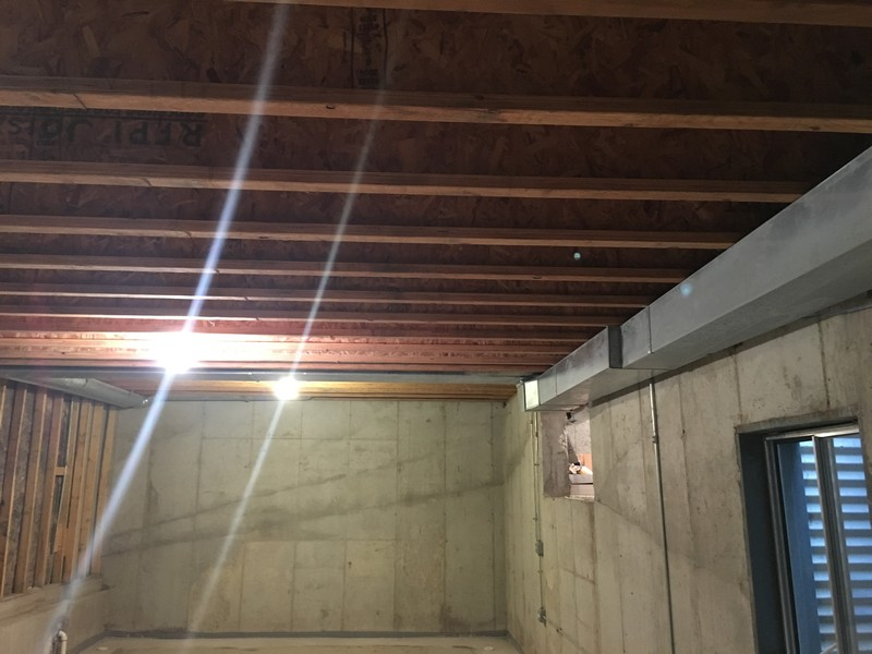 Real Estate Photography - 3206 Park Place, Evanston, IL, 60201 - Permaseal Basement w/ 8' Ceiling & Rough-In Plumb