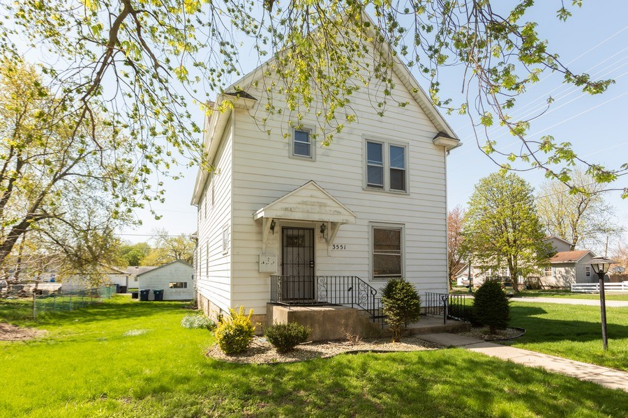 Real Estate Photography - 3551 213th Place, Matteson, IL, 60443 - Front View