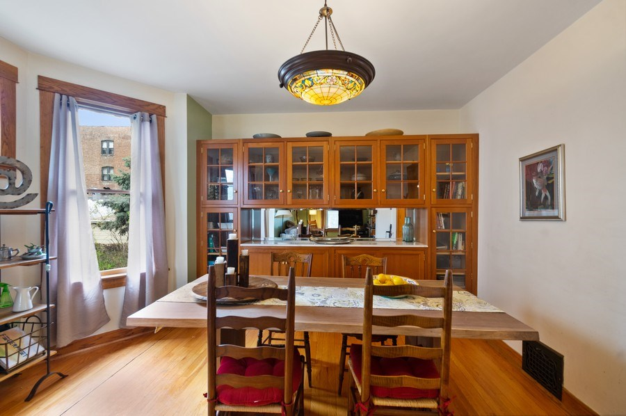 Real Estate Photography - 839 S. Taylor Avenue, Oak Park, IL, 60304 - Dining Room
