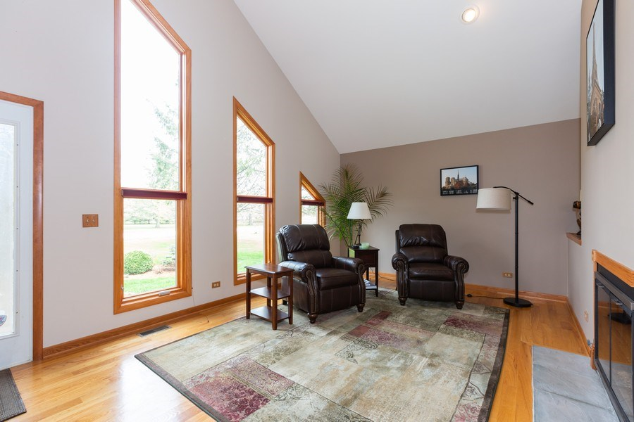 Real Estate Photography - 37W261 Heritage Drive, Batavia, IL, 60510 - Living Room