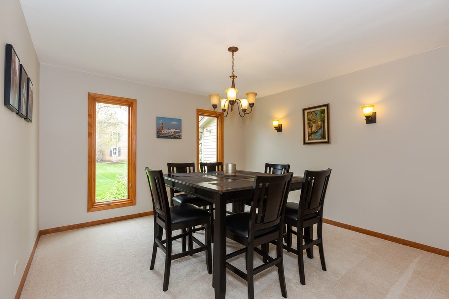 Real Estate Photography - 37W261 Heritage Drive, Batavia, IL, 60510 - Dining Room