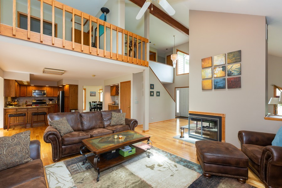 Real Estate Photography - 37W261 Heritage Drive, Batavia, IL, 60510 - Family Room