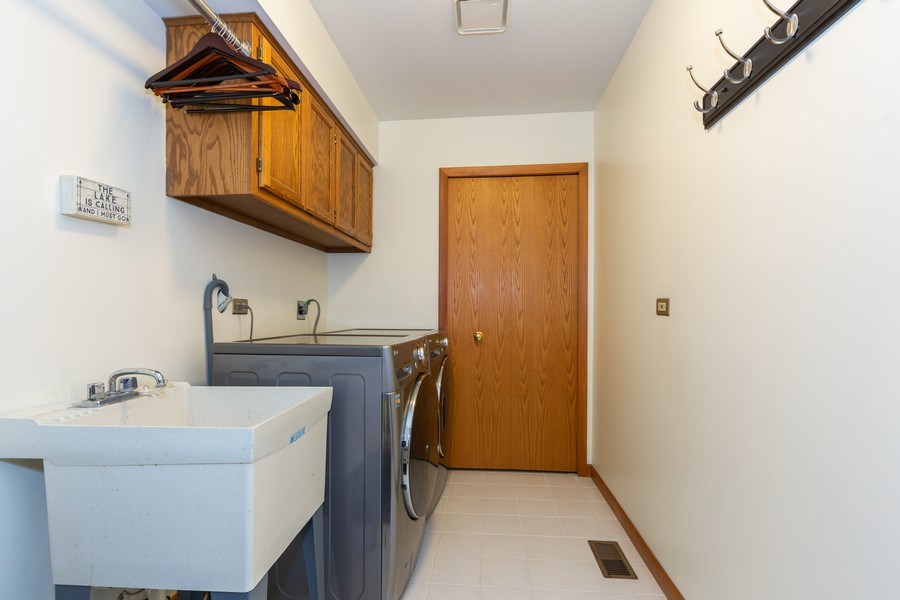 Real Estate Photography - 37W261 Heritage Drive, Batavia, IL, 60510 - Laundry Room