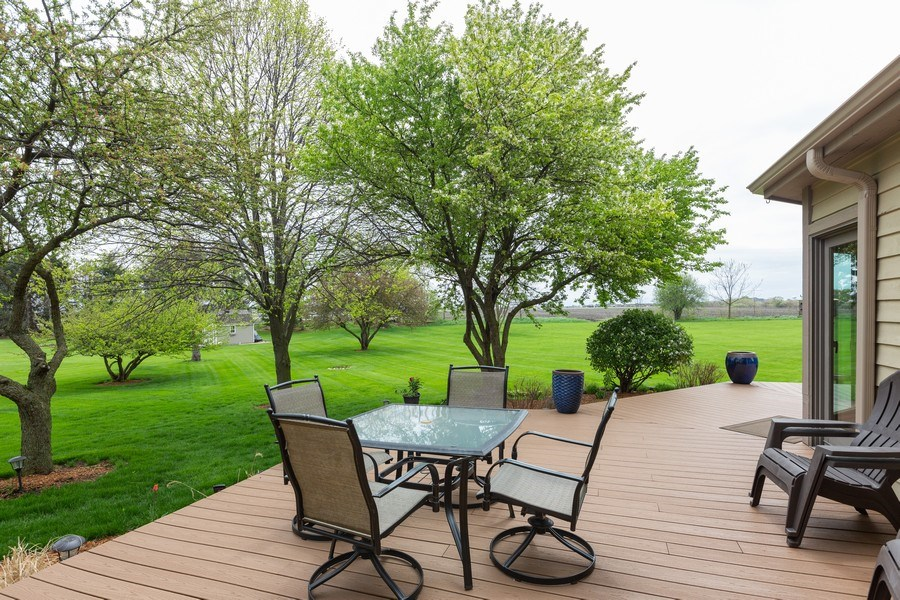 Real Estate Photography - 37W261 Heritage Drive, Batavia, IL, 60510 - Deck