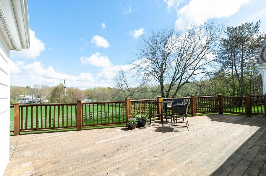 Real Estate Photography - 223 Deepwood Court, Barrington Hills, IL, 60010 - Deck
