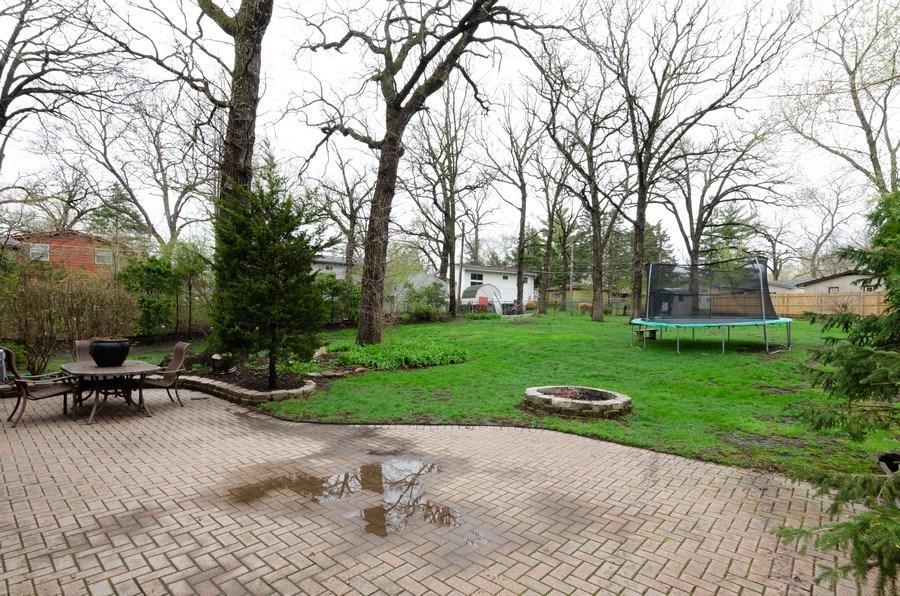 Real Estate Photography - 105 WOODCREST Circle, Streamwood, IL, 60107 - Back Yard