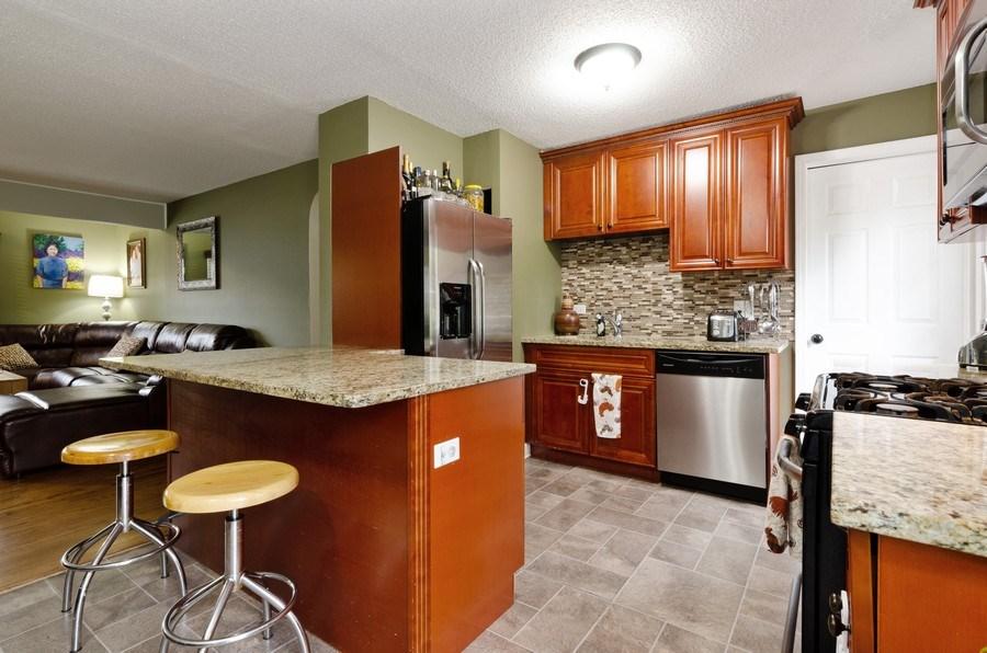 Real Estate Photography - 105 WOODCREST Circle, Streamwood, IL, 60107 - Kitchen