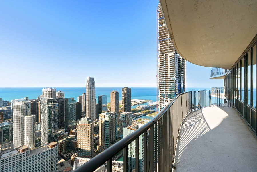 Real Estate Photography - 225 N Columbus Dr, 6504, Chicago, IL, 60601 - View