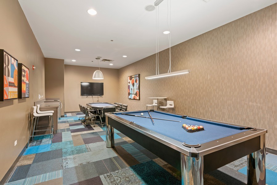Real Estate Photography - 225 N Columbus Dr, 6504, Chicago, IL, 60601 - Play / Recreational Room