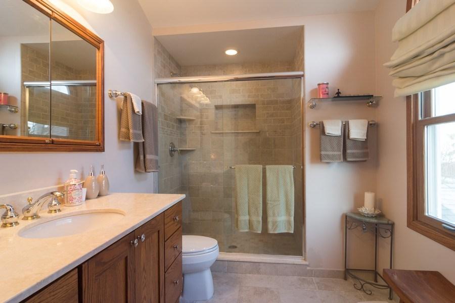 Real Estate Photography - 465 Thistle Lane, Lake Zurich, IL, 60047 - Master Bathroom