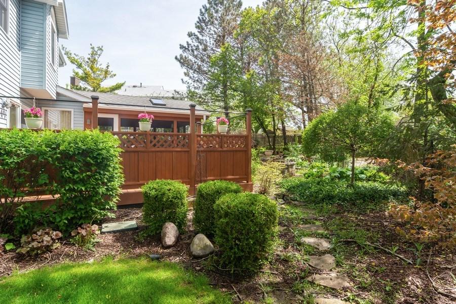 Real Estate Photography - 465 Thistle Lane, Lake Zurich, IL, 60047 - Back Yard