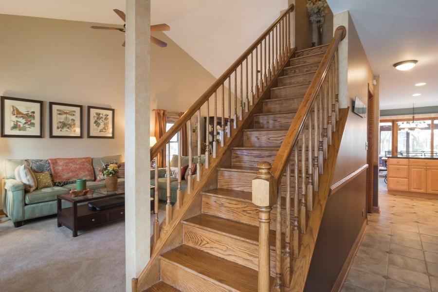 Real Estate Photography - 465 Thistle Lane, Lake Zurich, IL, 60047 - Foyer