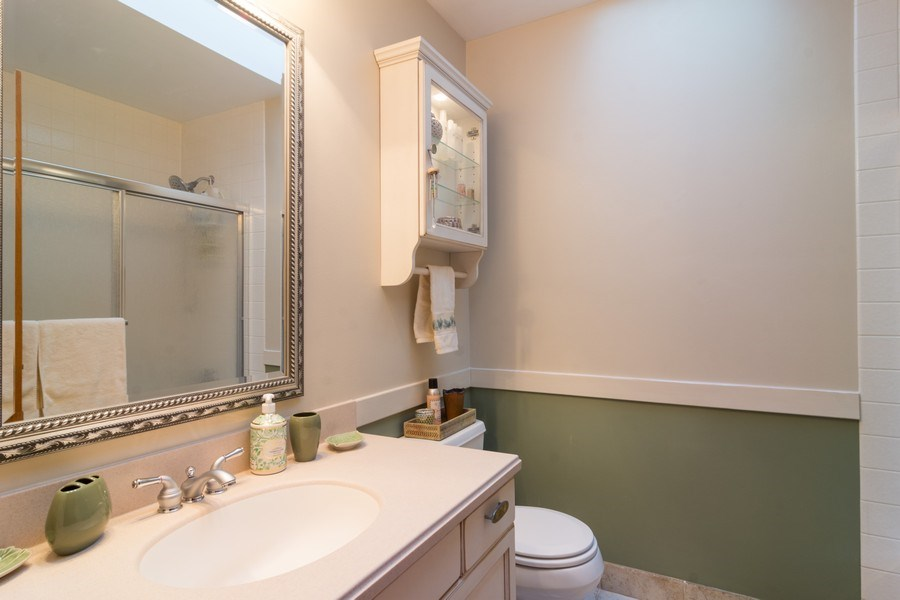 Real Estate Photography - 465 Thistle Lane, Lake Zurich, IL, 60047 - Bathroom