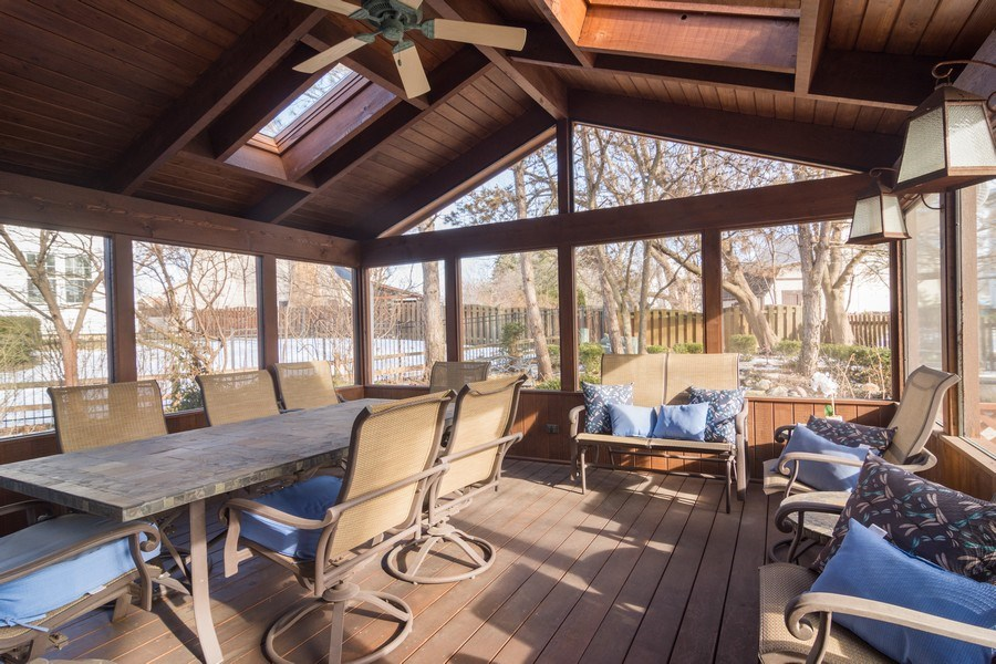 Real Estate Photography - 465 Thistle Lane, Lake Zurich, IL, 60047 - Sun Room