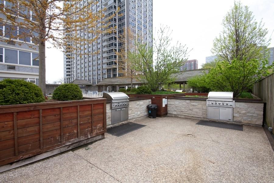 Real Estate Photography - 4250 N Marine, 229B, Chicago, IL, 60613 - Back Yard