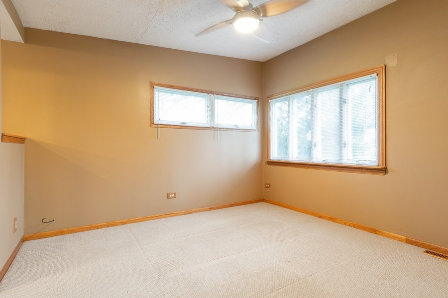 Real Estate Photography - 32W526 Forest Drive, Aurora, IL, 60502 - Master Bedroom