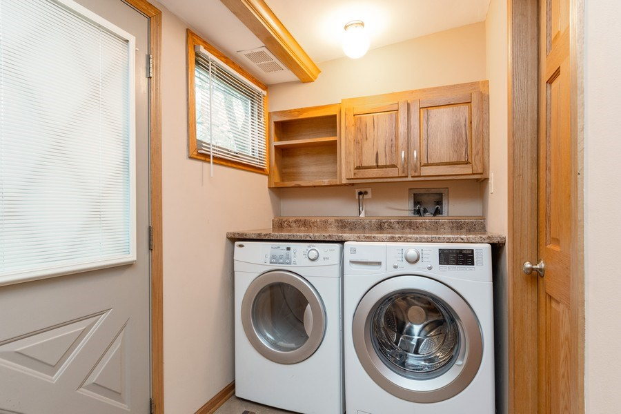 Real Estate Photography - 32W526 Forest Drive, Aurora, IL, 60502 - Laundry Room