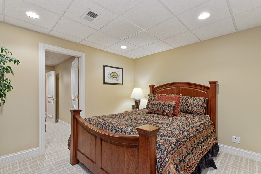 Real Estate Photography - 29040 N. Spoon Court, Mundelein, IL, 60060 - 5th bedroom in basement