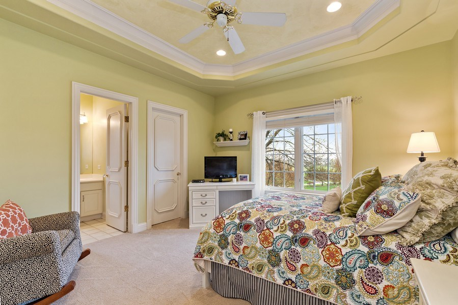 Real Estate Photography - 29040 N. Spoon Court, Mundelein, IL, 60060 - 3rd bedroom