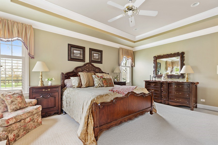 Real Estate Photography - 29040 N. Spoon Court, Mundelein, IL, 60060 - Master Bedroom