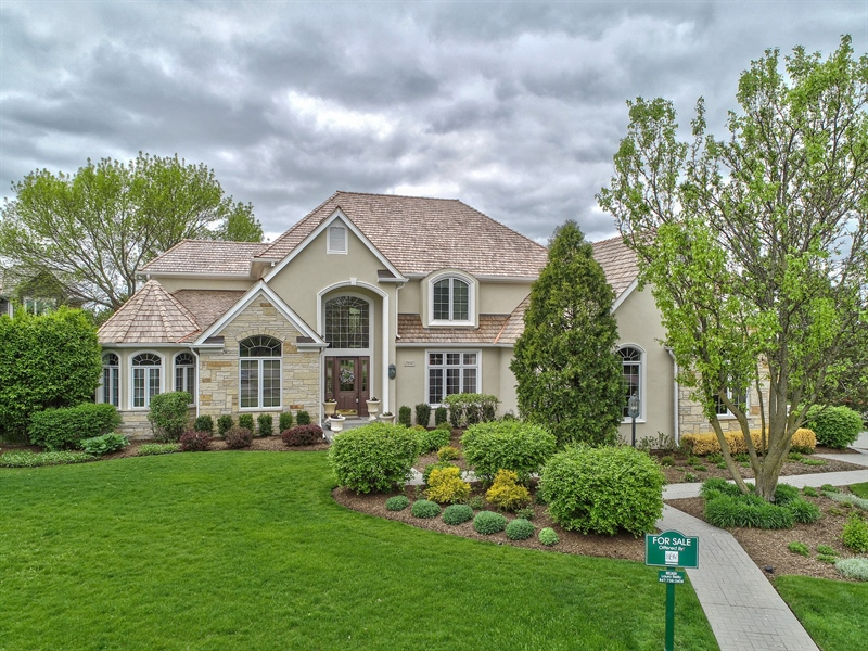 Real Estate Photography - 29040 N. Spoon Court, Mundelein, IL, 60060 - Aerial View