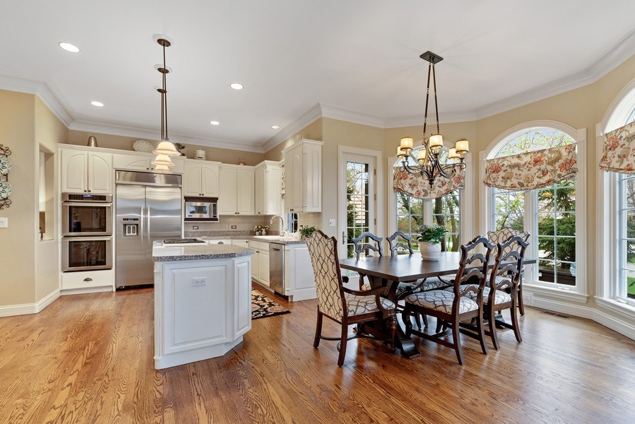 Real Estate Photography - 29040 N. Spoon Court, Mundelein, IL, 60060 - Kitchen / Breakfast Room