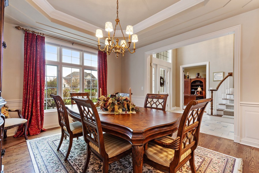 Real Estate Photography - 29040 N. Spoon Court, Mundelein, IL, 60060 - Dining Room