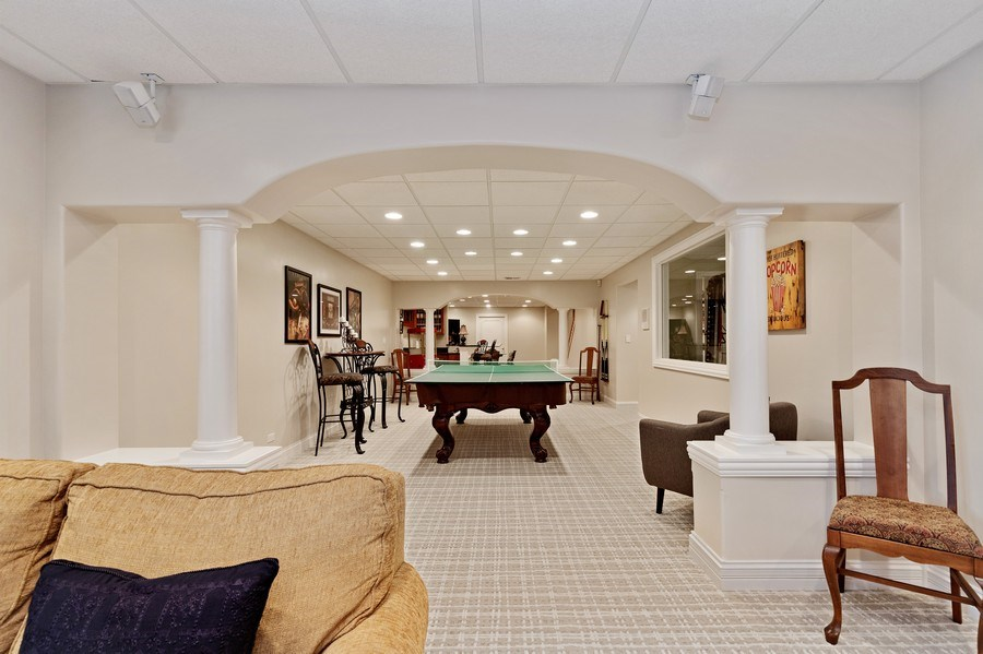 Real Estate Photography - 29040 N. Spoon Court, Mundelein, IL, 60060 - Basement